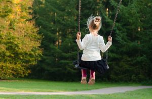 Girl on swing : Children's Care Workers : LavoroCare : Health & Social Care Agency : Jobs